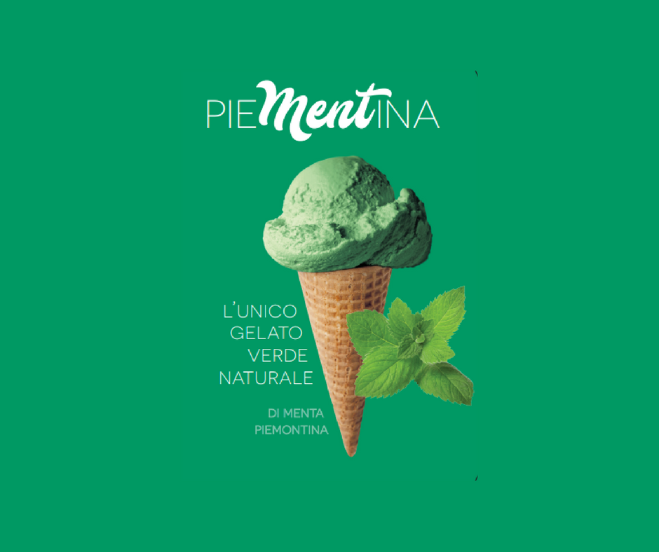 Menta Piemontina l'unico gelato verde naturale Galatea