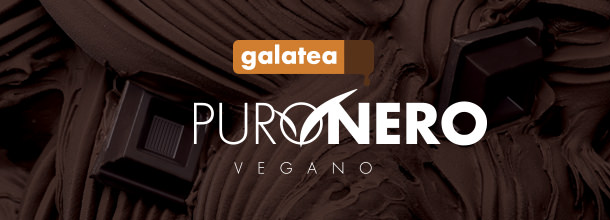 Galatea Puronero cioccolato vegano